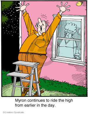 Comic Strip Jerry Van Amerongen  Ballard Street 2014-12-19 high