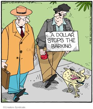 Comic Strip Jerry Van Amerongen  Ballard Street 2014-12-26 stop