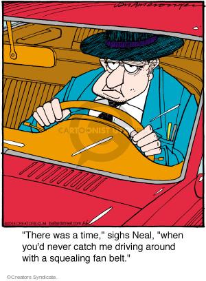 Cartoonist Jerry Van Amerongen  Ballard Street 2015-01-06 auto