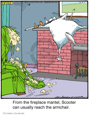 Cartoonist Jerry Van Amerongen  Ballard Street 2015-01-08 place
