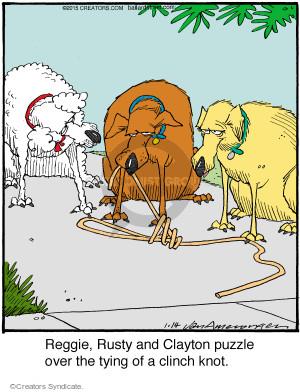 Comic Strip Jerry Van Amerongen  Ballard Street 2015-01-14 Reggie
