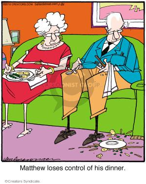 Comic Strip Jerry Van Amerongen  Ballard Street 2015-01-21 lose