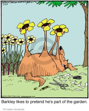 Comic Strip Jerry Van Amerongen  Ballard Street 2015-01-23 flower