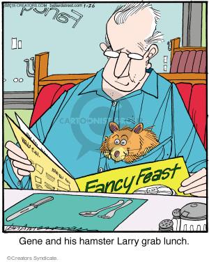 Comic Strip Jerry Van Amerongen  Ballard Street 2015-01-26 Larry
