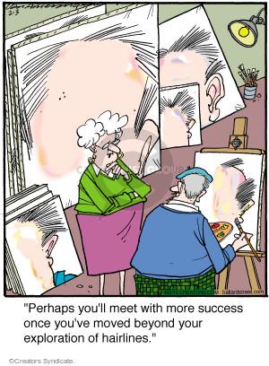 Comic Strip Jerry Van Amerongen  Ballard Street 2015-02-03 art