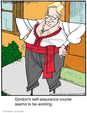 Comic Strip Jerry Van Amerongen  Ballard Street 2015-02-04 self-esteem