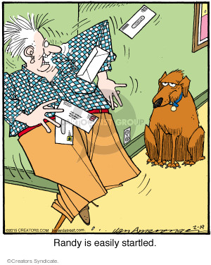 Comic Strip Jerry Van Amerongen  Ballard Street 2015-02-19 frighten