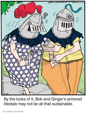 Comic Strip Jerry Van Amerongen  Ballard Street 2015-02-20 May