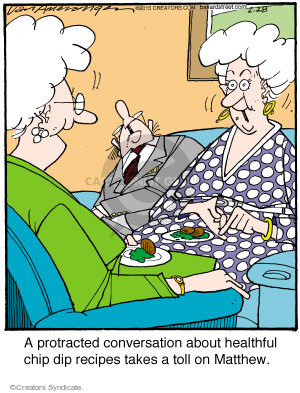 Comic Strip Jerry Van Amerongen  Ballard Street 2015-02-28 talkative