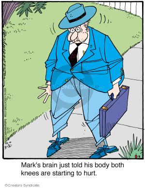 Comic Strip Jerry Van Amerongen  Ballard Street 2015-03-30 brain