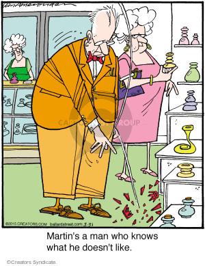 Comic Strip Jerry Van Amerongen  Ballard Street 2015-03-31 Martin