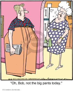 Comic Strip Jerry Van Amerongen  Ballard Street 2015-04-06 garment