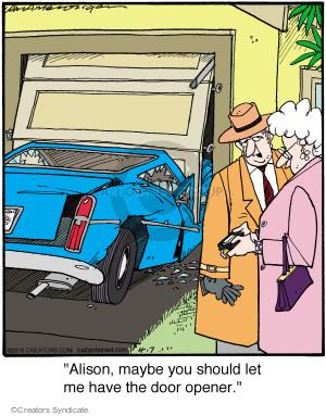 Comic Strip Jerry Van Amerongen  Ballard Street 2015-04-07 Alison