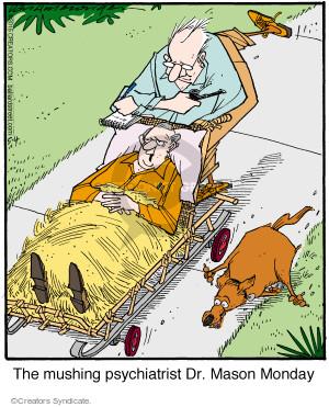 Comic Strip Jerry Van Amerongen  Ballard Street 2015-05-04 therapist
