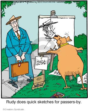 Comic Strip Jerry Van Amerongen  Ballard Street 2015-05-11 art