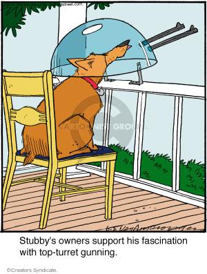 Comic Strip Jerry Van Amerongen  Ballard Street 2015-06-02 gun
