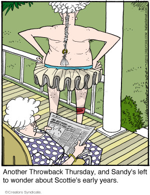 Comic Strip Jerry Van Amerongen  Ballard Street 2015-06-11 dress