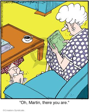 Comic Strip Jerry Van Amerongen  Ballard Street 2015-07-02 Martin