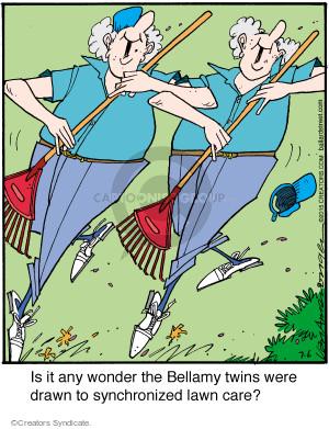 Comic Strip Jerry Van Amerongen  Ballard Street 2015-07-06 any