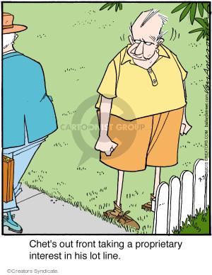 Comic Strip Jerry Van Amerongen  Ballard Street 2015-07-07 online security