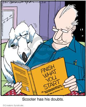 Comic Strip Jerry Van Amerongen  Ballard Street 2015-07-10 reading book