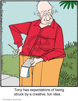 Comic Strip Jerry Van Amerongen  Ballard Street 2015-07-11 anticipation
