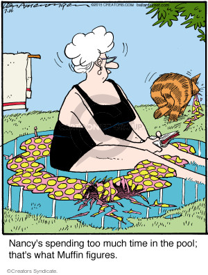 Comic Strip Jerry Van Amerongen  Ballard Street 2015-07-16 cat