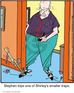 Comic Strip Jerry Van Amerongen  Ballard Street 2015-07-28 device