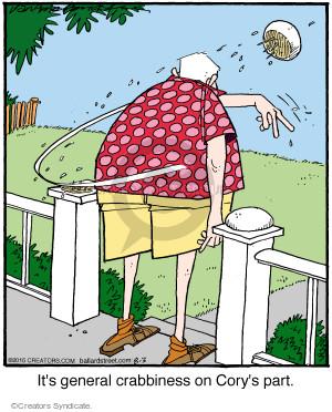 Comic Strip Jerry Van Amerongen  Ballard Street 2015-08-03 part
