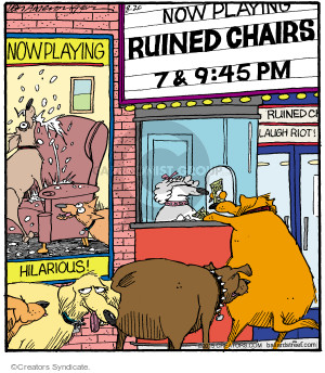 Now Playing. Ruined Chairs. 7 & 9:45 pm. Now Playing. Hilarious!