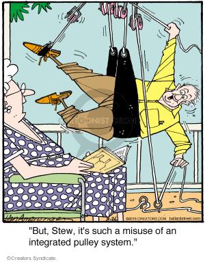 Comic Strip Jerry Van Amerongen  Ballard Street 2015-08-26 system