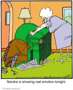 Comic Strip Jerry Van Amerongen  Ballard Street 2015-08-27 irate