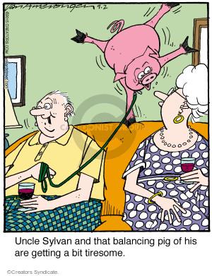 Comic Strip Jerry Van Amerongen  Ballard Street 2015-09-02 van