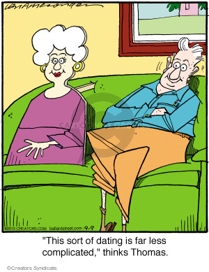 Comic Strip Jerry Van Amerongen  Ballard Street 2015-09-09 relationship
