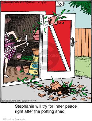 Comic Strip Jerry Van Amerongen  Ballard Street 2015-09-12 irate
