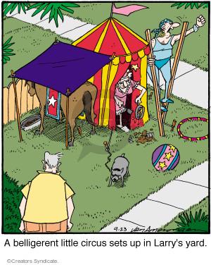 Comic Strip Jerry Van Amerongen  Ballard Street 2015-09-23 Larry