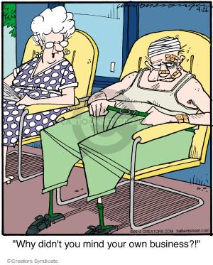 Comic Strip Jerry Van Amerongen  Ballard Street 2015-09-26 own