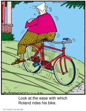 Comic Strip Jerry Van Amerongen  Ballard Street 2015-09-29 bicycle