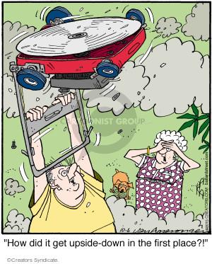 Cartoonist Jerry Van Amerongen  Ballard Street 2015-10-06 place