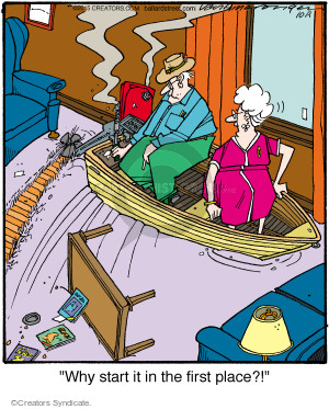 Comic Strip Jerry Van Amerongen  Ballard Street 2015-10-09 place