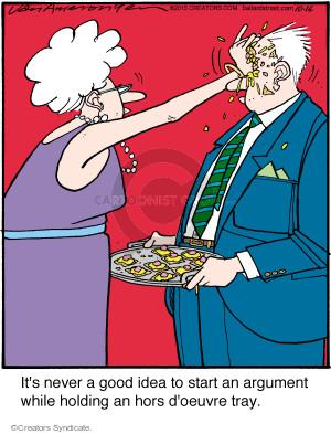 Comic Strip Jerry Van Amerongen  Ballard Street 2015-10-16 food