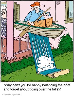 Comic Strip Jerry Van Amerongen  Ballard Street 2015-10-22 boat