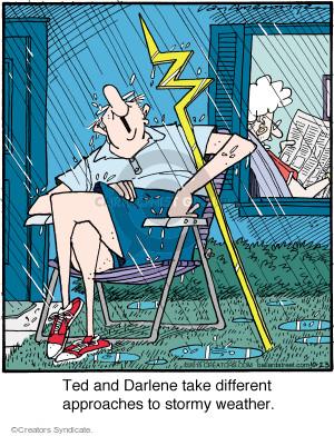Comic Strip Jerry Van Amerongen  Ballard Street 2015-10-23 approach