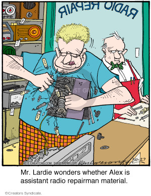 Comic Strip Jerry Van Amerongen  Ballard Street 2015-10-27 ability
