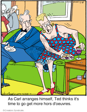 Comic Strip Jerry Van Amerongen  Ballard Street 2015-11-06 dressing