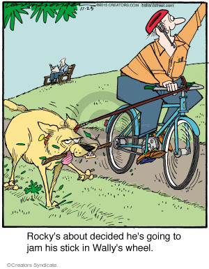 Comic Strip Jerry Van Amerongen  Ballard Street 2015-11-23 bicycle