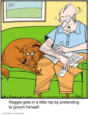 Cartoonist Jerry Van Amerongen  Ballard Street 2015-11-26 dog grooming