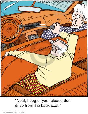 Comic Strip Jerry Van Amerongen  Ballard Street 2015-11-27 dangerous