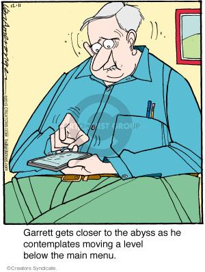 Cartoonist Jerry Van Amerongen  Ballard Street 2015-12-11 software
