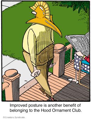 Comic Strip Jerry Van Amerongen  Ballard Street 2015-12-28 perk
